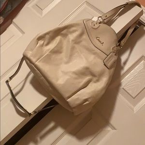 Authentic Taupe Coach Bag